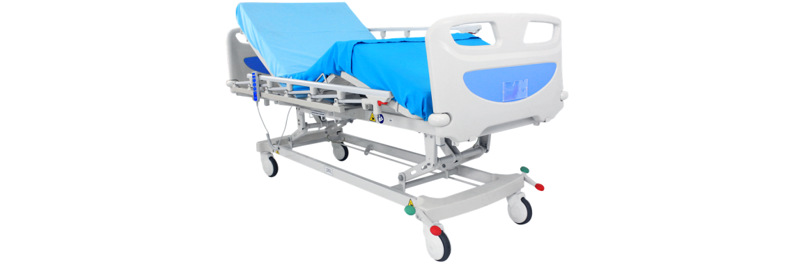 Electric Hospital Bed 3 motor  (collapsible)