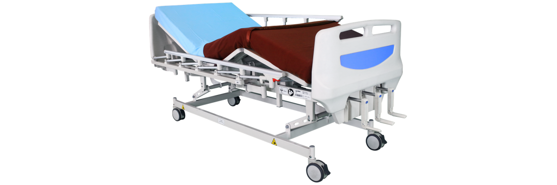 Manual Hospital Bed 3 function (collapsible)