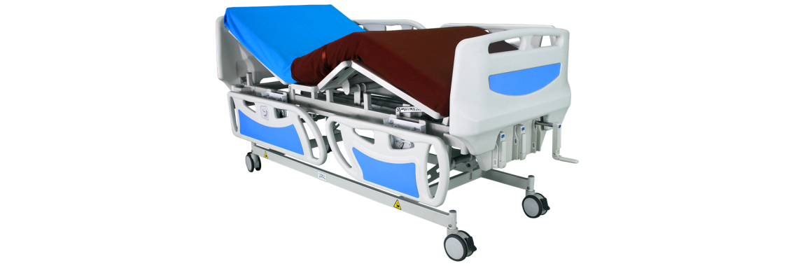 Manual Hospital Bed 3 function (drop-down)